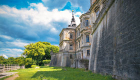 View of the castle Podgoretsky Royalty Free Stock Images
