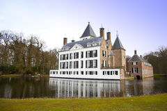 View at castle of Renswoude Royalty Free Stock Image
