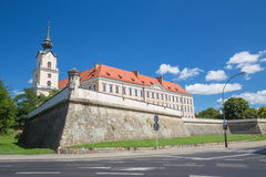 View of the castle in Rzeszow. Poland Royalty Free Stock Photo