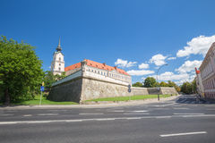 View of the castle in Rzeszow. Poland Royalty Free Stock Photography