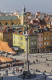 View of the Castle Square Stock Photography