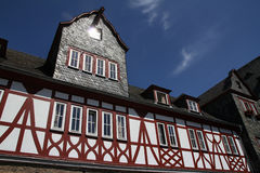 View of Castle Stahleck in Rhine area, Germany. Royalty Free Stock Photos
