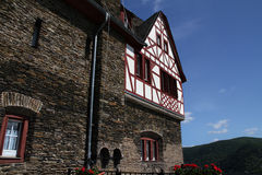 View of Castle Stahleck in Rhine area, Germany. Stock Images