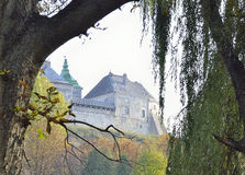 View castle walls Royalty Free Stock Photo