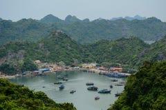 View of Cat Ba island Stock Image