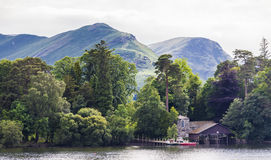 View of Cat Bells over Derwent Water. Stock Photography
