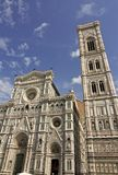 View of the Cathedral and Battistero Royalty Free Stock Images