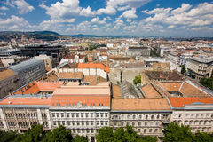 View from cathedral in Budapest Royalty Free Stock Image