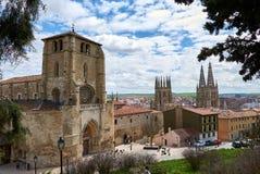 Burgos, Castilla y León, Spain stock images