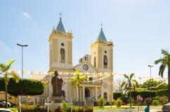 View of cathedral Catedral Metropolitana Sagrado Coracao de Jesu Royalty Free Stock Photos