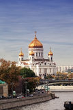 View of Cathedral of Christ  Savior Royalty Free Stock Photos