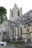 View of the cathedral church of Christ, Dublin, Ireland Royalty Free Stock Photo