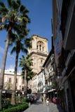 View of the Cathedral de la Anunciación Stock Photo