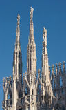 View of the Cathedral in Milan Royalty Free Stock Photo