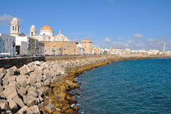 View of The Cathedral Nueva in Cadiz Stock Photo
