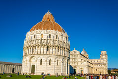 View of the Cathedral of Pisa Royalty Free Stock Images