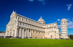 View of the Cathedral of Pisa Stock Images