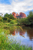 View of cathedral rock Royalty Free Stock Photos