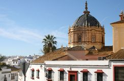 Cathedral in Carmona, Andalusia, Spain Royalty Free Stock Image