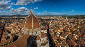 View of the Cathedral Santa Maria del Fiore Royalty Free Stock Image