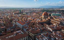 View of the Cathedral Santa Maria del Fiore Stock Photography