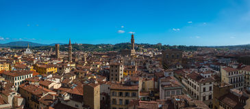 View of the Cathedral Santa Maria del Fiore Royalty Free Stock Photography