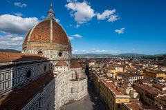 View of the Cathedral Santa Maria del Fiore Stock Photo