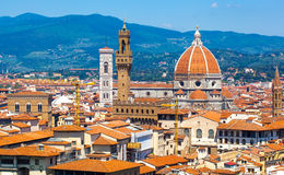 View of Cathedral of Santa Maria del Fiore Royalty Free Stock Photo