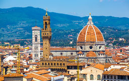 View of Cathedral of Santa Maria del Fiore Stock Photo