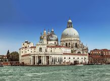 View on Cathedral of Santa Maria della Salute. Venice Stock Photo