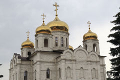 View of the Cathedral of the Savior Stock Photo