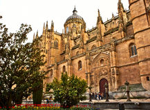 View of Cathedral of Segovia Royalty Free Stock Photo