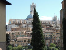 Panorama Siena Cathedral Royalty Free Stock Photography