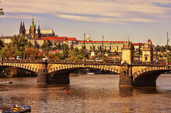 View of the Cathedral of St. Vitus. Prague. Royalty Free Stock Image