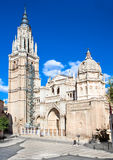 View on  Cathedral in Toledo, Spain Royalty Free Stock Photo