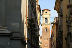 View on the Cathedral of Torino Royalty Free Stock Photos