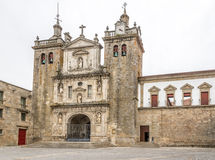 View at the Cathedral of Viseu - Portugal. View at the Cathedral of Viseu in Portugal Royalty Free Stock Image