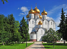 View of the Cathedral of Yaroslavl Stock Image