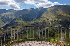 View of Caucasus mountains along  Georgian Military Road. Republic of Georgia stock images