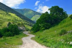 View in Caucasus Stock Photography