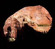 View from cave Stock Images