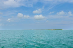 View of Cayo Levisa Island in Cuba Royalty Free Stock Photos