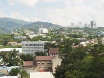 Cebu city skyline. View of Cebu City, Cebu, the Philippines Royalty Free Stock Photos