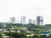 Cebu city skyline. View of Cebu City, Cebu, the Philippines Royalty Free Stock Photography