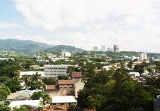 Cebu city skyline. View of Cebu City, Cebu, the Philippines Stock Photos