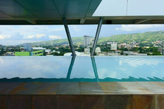 View of Cebu City. By Swimming Pool, Philippines 30 May 2017 Royalty Free Stock Image