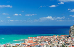 View on Cefalu Royalty Free Stock Photo