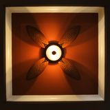 View of ceiling fan. Stock Image