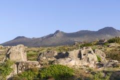 Celtic Castro of Ulaca. Avila, Spain. Stock Photography