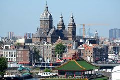 Amsterdam - The Church of St Nicholas Royalty Free Stock Photography